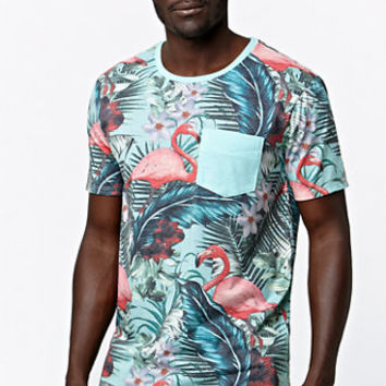 Modern Amusement Flamingo Crew T-Shirt at PacSun.com