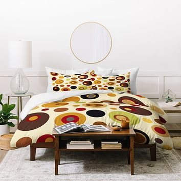 Viviana Gonzalez Vintage Colorplay 1 Duvet Cover