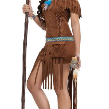 Native American Medicine Woman Costume