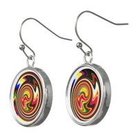 Colorful Magic Snails Earrings