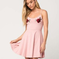 WHITE FAWN Rose Dress