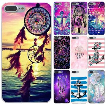 Lavaza little dream catcher anchor Hard Phone Case for Apple iPhone X 10 8 7 6 6s Plus 5 5S SE 5C 4 4S Cover Coque Shell