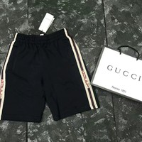 Gucci  Side tapes hide blue five PANTIES / shorts