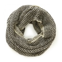 Sole Society Two Tone Mixed Knit Scarf