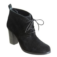 IRENEE in BLACK SUEDE Ankle Boots