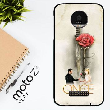 Once Upon A Time Rose X3423 Motorola Moto Z2 Play Case