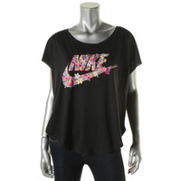 Nike Womens Graphic Athletic Cut T-Shirt