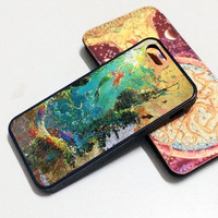 iPhone 6 case watercolor dream mermaid colorful iphone case,ipod case,samsung galaxy case plastic rubber case waterproof W197