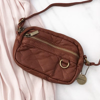 Mini Crossbody - In Brown - By Ampere Creations