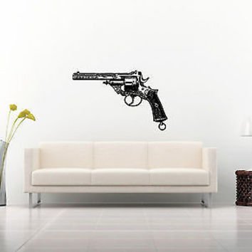 Colt Wall Sticker Decal Hand Gun Firearm Colt 1911 Gun Wall Art Decor 3818