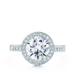 Tiffany & Co. | Engagement Rings | Round Brilliant With Bead-set Border | United States