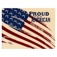 American Flag Window Decal   Girls with Guns Clothing