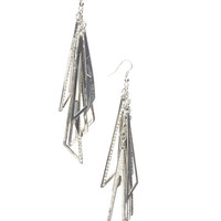 Edgy Linear Earring | Wet Seal
