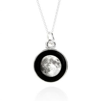 Full Moon Charmed Simplicity Necklace