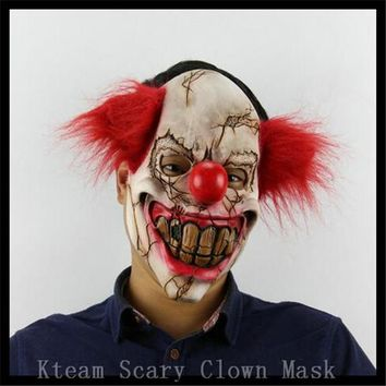Free Shipping!!! Funny Party Cosplay Evil Circus Clown Mask Pennywise Halloween Horror Party Fancy Dress Costume Accessory