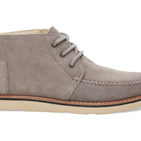 TOMS Paloma Suede Men's Chukka Boots Grey