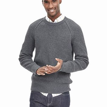 Banana Republic Mens Textured Filpucci Italian Wool Sweater Pullover
