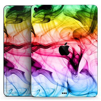 """Neon Glowing Fumes - Full Body Skin Decal for the Apple iPad Pro 12.9"""", 11"""", 10.5"""", 9.7"""", Air or Mini (All Models Available)"""