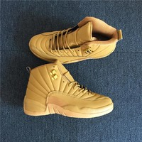 Air Jordan 12 Retro Wheat Men Basketball Shoes 41-47