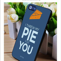I Threw My Pie OITNB iPhone for 4 5 5c 6 Plus Case, Samsung Galaxy for S3 S4 S5 Note 3 4 Case, iPod for 4 5 Case, HtC One for M7 M8 and Nexus Case