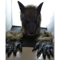 Halloween costumes Wolf mask(Head + gloves) [9305621703]