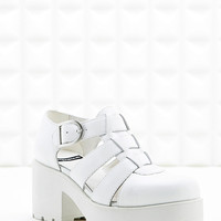 Vagabond Dioon Closed-Toe Sandals in White - Urban Outfitters