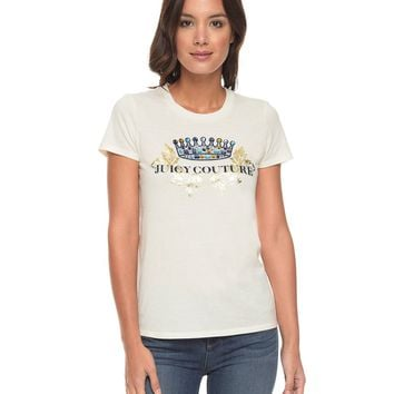 Logo Jc Jewels Short Sleeve Tee by Juicy Couture,