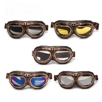 Steampunk Motorcycle Glasses