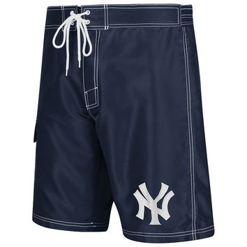 New York Yankees Cargo Swim Trunks - Men