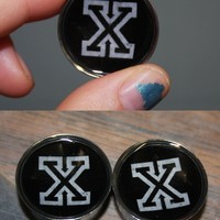 Straight-Edge X Plugs | Plugs By Emma