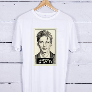Frank Sinatra - Mugshot Tshirt T-shirt Tees Tee Men Women Unisex Adults