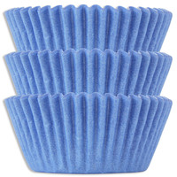 Light Blue Baking Cups
