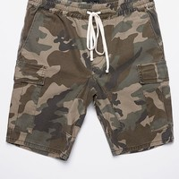 PacSun Drop Skinny Camo Cargo Shorts at PacSun.com