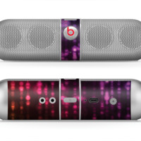 The Unfocused Neon Rain Skin for the Beats by Dre Pill Bluetooth Speaker