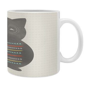 Allyson Johnson Native Owl 2 Coffee Mug