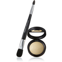 Baked Highlighter in Vanilla with Double-Ended Face & Eye Applicator