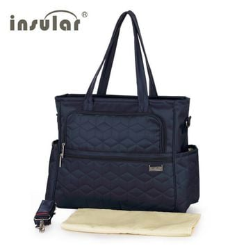 New Arrival Shipping Free 100% Nylon Fashion Baby Diaper Bags Nappy Bags Mommy Bag Multifunctional Changing Bags