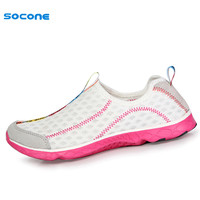 2016 Indie Pop Women Sneakers Summer Breathable Air Mesh Running Shoes Cool Low Upper Heigh Slip-On Light 8521W-1