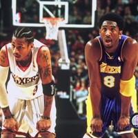 Allen Iverson and Koby Bryant