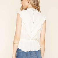 Contemporary Ruffled Blouse