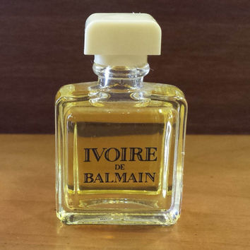 Vintage Formula Ivoire de Balmain Eau de Toilette FULL, Vintage Perfume, Vintage Bottle, Travel Size, Collectible
