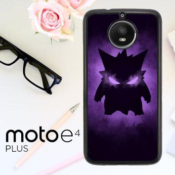Pokemon Gengar X4495 Motorola Moto E4 Plus Case