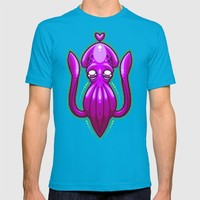Squid Love T-shirt by Artistic Dyslexia | Society6