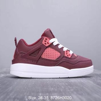 Air Jordan 4 Toddler Kid Shoes Child Sneakers - Best Deal Online
