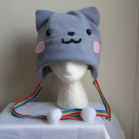 nyan cat hat by AthenasWink on Etsy