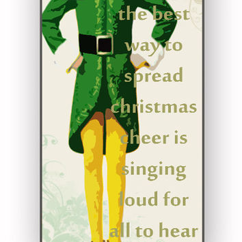 Christmas elf custom for iPhone 4/4S Case **