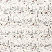 C'est Magnifique Wallpaper by Anthropologie in Multi Size: One Size Decor