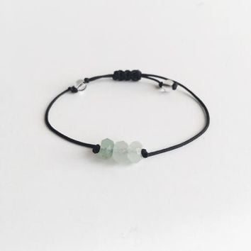 Aventurine ~ Choose a String Color ~ Faceted