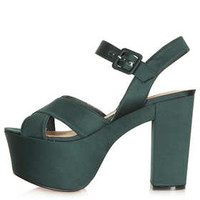LAWSON 2Part Satin Platforms - Heels  - Shoes