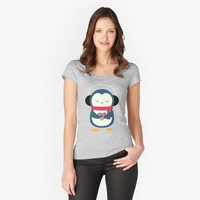 'Take My Heart' Women's Fitted Scoop T-Shirt by AndyWestface